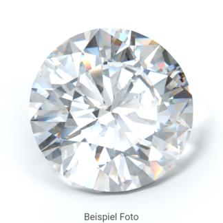 Beispiel für einen Diamanten mit Schliff Form Brillant rund, wie er bei Diamanthaus gekauft werden kann