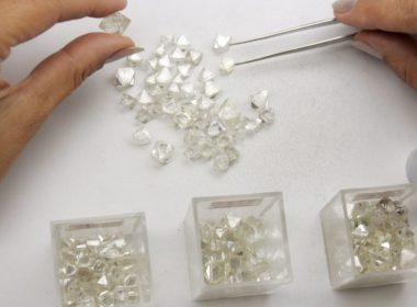 Rohdiamanten hohe Qualität Sortierung für Anlagediamanten