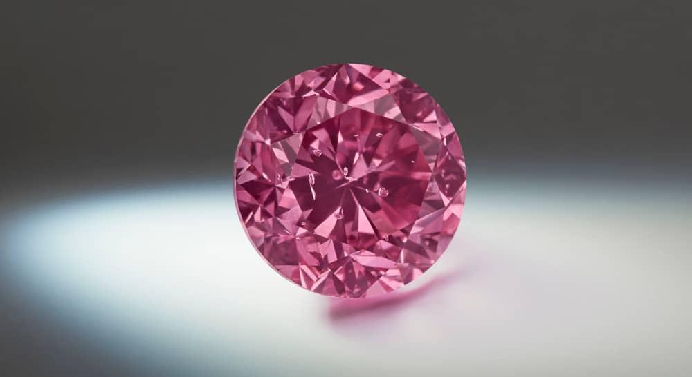 Argyle Fancy Vivid Purplish Pink Diamant