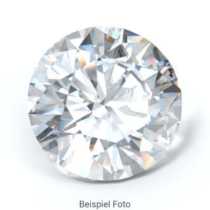 Beispiel für einen Diamanten mit Brillant Schliff wie er bei Diamanthaus gekauft werden kann