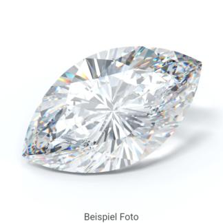 Beispiel für einen Diamanten mit Schliff Form Marquise wie er bei Diamanthaus gekauft werden kann
