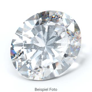 Beispiel für einen Diamanten mit Schliff Form Oval wie er bei Diamanthaus gekauft werden kann