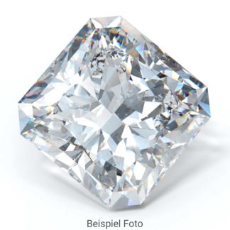 Beispiel für einen Diamanten mit Schliff Form Radiant wie er bei Diamanthaus gekauft werden kann