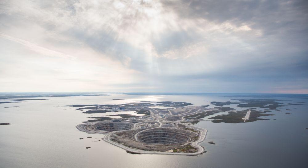 Diamantmine Betreiber wollen CO2 neutral werden